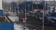 ДПС, скорая и пожарные: в Омске на переходе в Амуре сбили мужчину