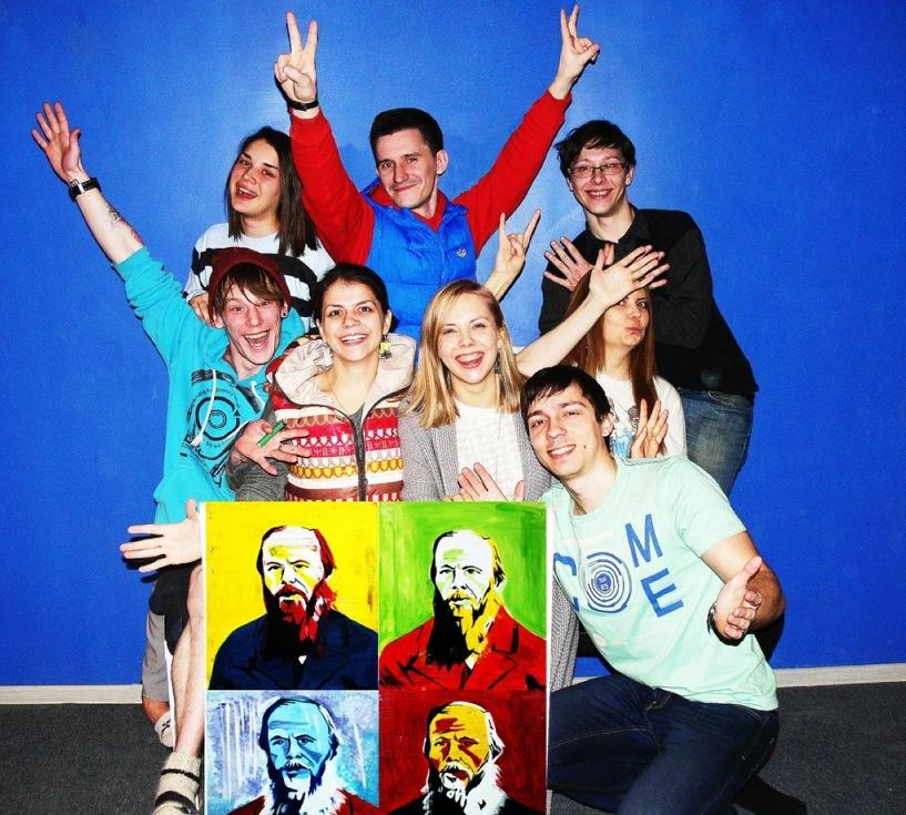 В Омске новый хостел «Достоевский» принял студентов из AIESEC