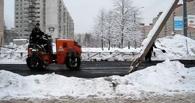 Омичи увидели, как дорожники кладут асфальт в ледяные лужи (видео)