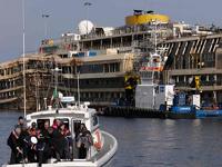При работах на лайнере Costa Concordia погиб водолаз