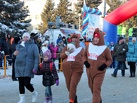 Рождественский полумарафон Омска бежали Деды Морозы, копытные и Крым