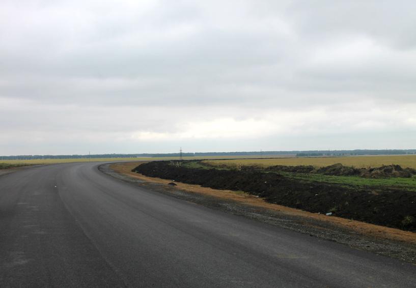 Строительство окружной дороги в Омске завершится на месяц раньше срока сдачи