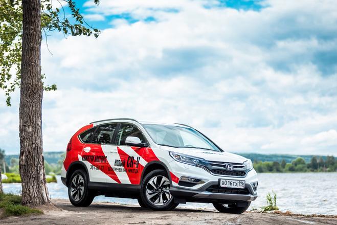 Похудеть к лету: первая встреча с обновленной Honda CR-V