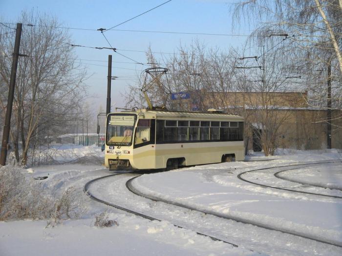 Десятый модернизированный трамвай № 4 вышел сегодня на линию в Омске