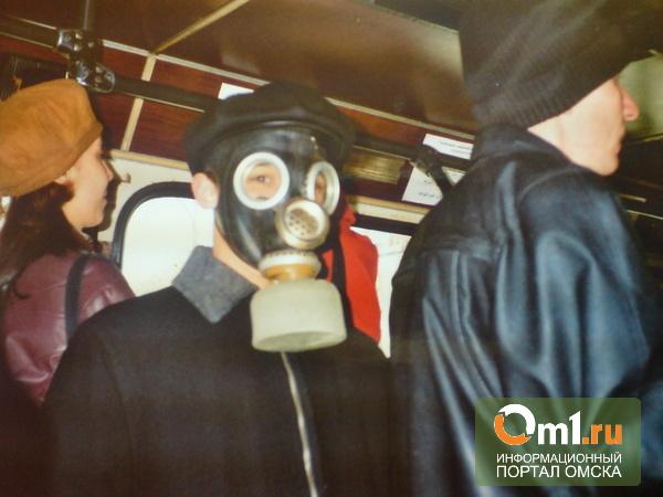 Омич пожаловался в ГАИ на автобус №61