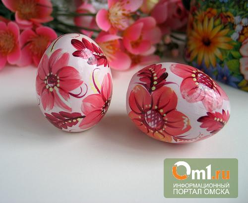 В Омске 1 апреля из «Ашана» украли 5 пасхальных яиц и 3 калькулятора