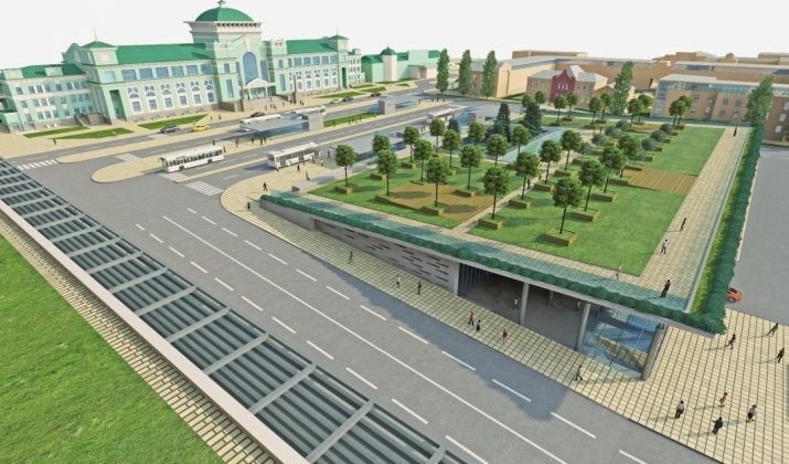 По полочкам: что мешает реконструкции Привокзальной площади Омска