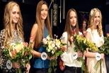 Конкурс «Краса России» в Омске «атаковали» гимнастки