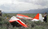 Два самолета столкнулись в небе над США