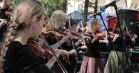 Назаров побывал на музыкальном фестивале в Театральном сквере