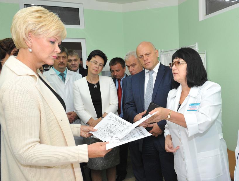 Замглавы Минздрава РФ осталась довольна здравоохранением в Омской области