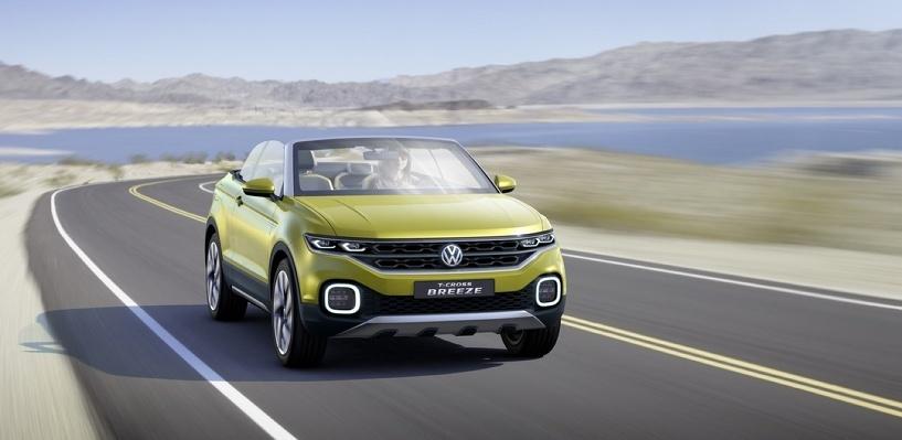 Новый тренд — кроссовер без крыши: теперь такой есть и у Volkswagen
