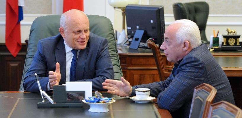 Назаров поблагодарил Спивакова за вклад в создание первого хосписа в Омске