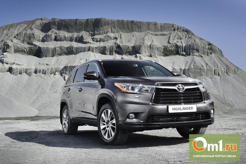 В Омске начался прием заказов на новый Toyota Highlander