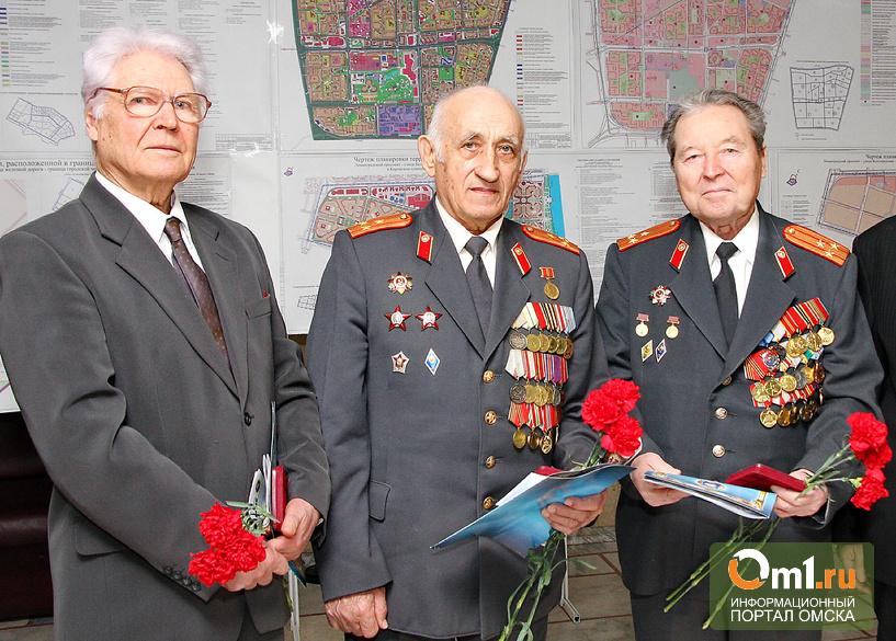 К 70-летию Победы Омск подготовит Областная организация ветеранов