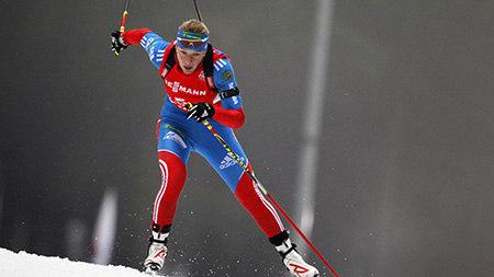 Россия взяла вторую медаль: «серебро» в женском биатлоне