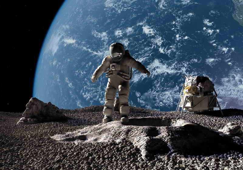 Российские космонавты высадятся на Луну в 2027 году