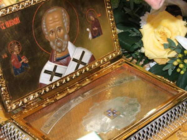 В Омск привезут мощи Николая Чудотворца