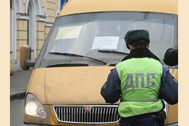 В Омске маршрутка сбила мужчину на пешеходном переходе