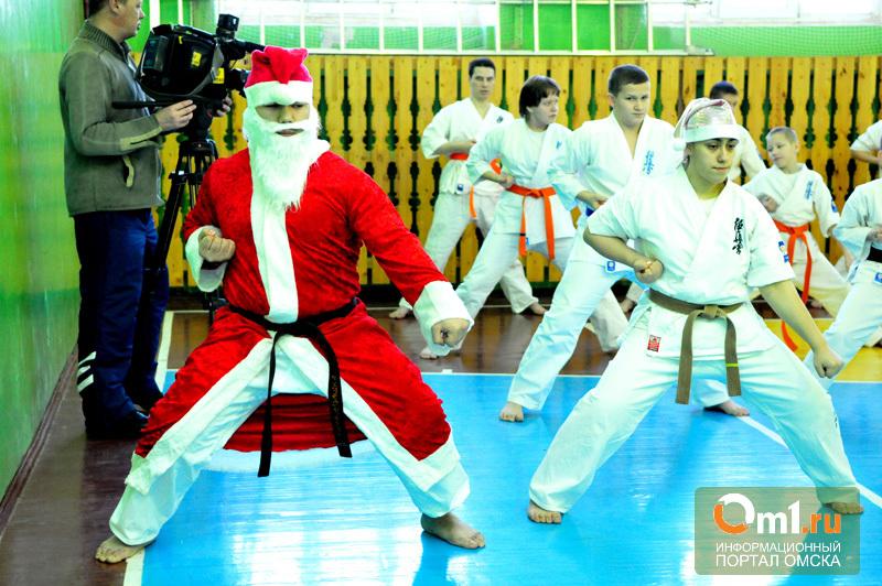 В Омске дзюдоисты на татами сразятся за призы Деда Мороза