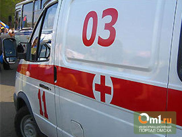 В Омской области молодой водитель врезался в пассажирскую «Газель»