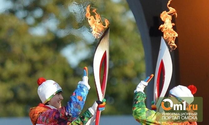 Из-за Эстафеты олимпийского огня перекроют пол-Омска