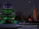 Главная городская елка Омска торжественно открылась