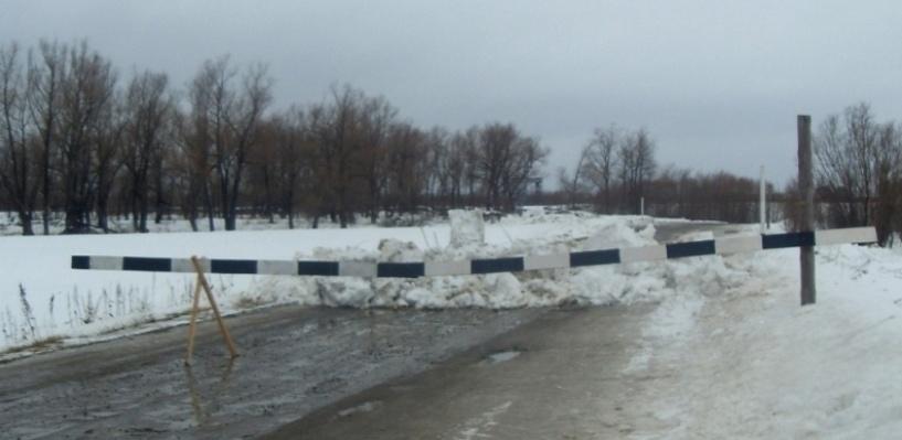 На Иртыше выявили незаконную ледовую переправу