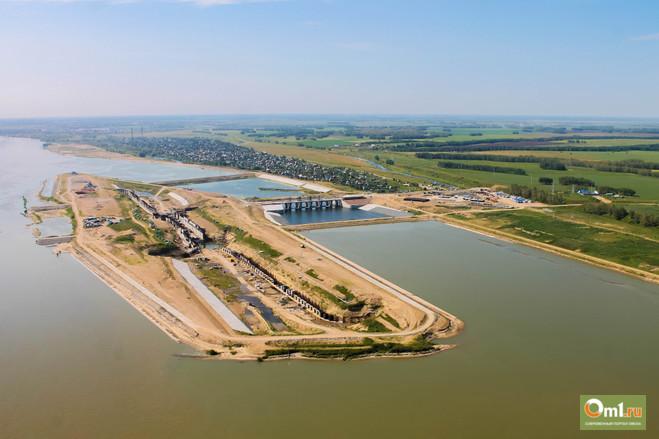 Красногорский гидроузел в Омске будут достраивать бывшие работники «Мостовика»