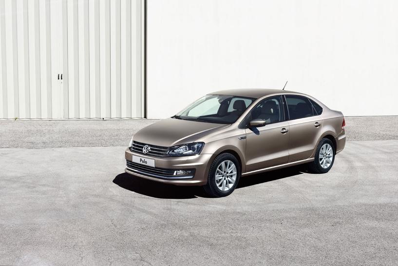 Подешевело: обнародованы цены на новый Volkswagen Polo sedan