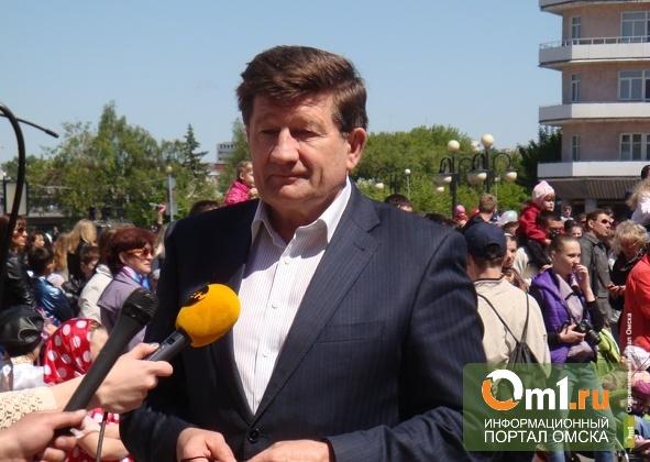 Мэр Омска Двораковский посмотрел, как в Новосибирске отметили День города