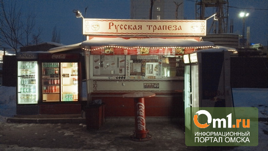 В Омске накануне Масленицы загорелось блинное кафе