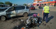 В Омске полиция назвала причину ДТП, из-за которого байкер попал в реанимацию