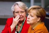 Немецкий министр, обвиненный в плагиате, подал в отставку
