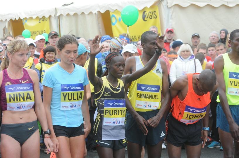 Победитель SIM-2014 из Кении еще раз пробежит дистанцию Сибирского международного марафона