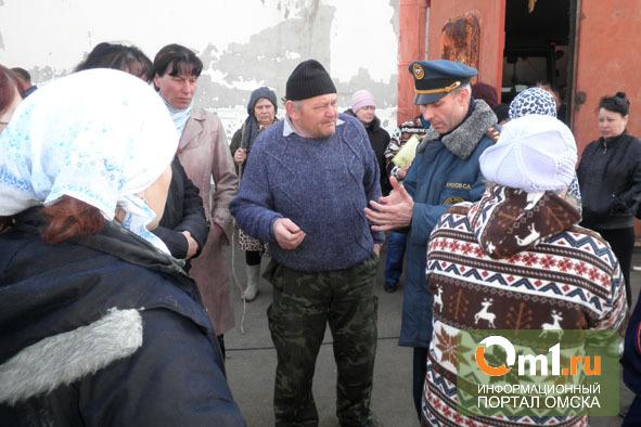 Поселок Затон в Омской области больше не «тонет»