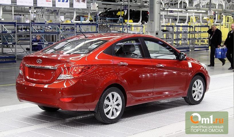 Обновленный Hyundai Solaris начнет выходить в 2013 году
