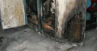 Ночью в Омске загорелся цех на Шинном заводе