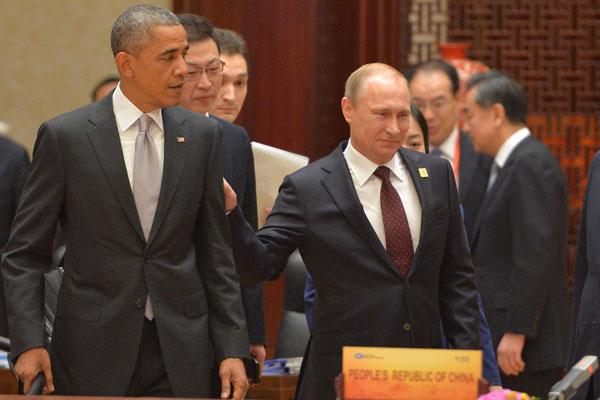 Обсудили Украину, Сирию и Иран: Владимир Путин немного поболтал с Бараком Обамой