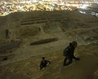 Российские руферы залезли на пирамиду Хеопса