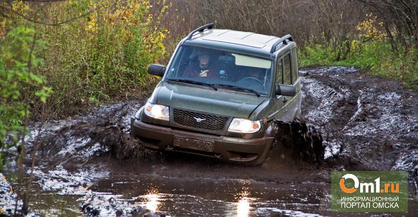 Омские дороги заставляют автомобилистов пересаживаться на внедорожники