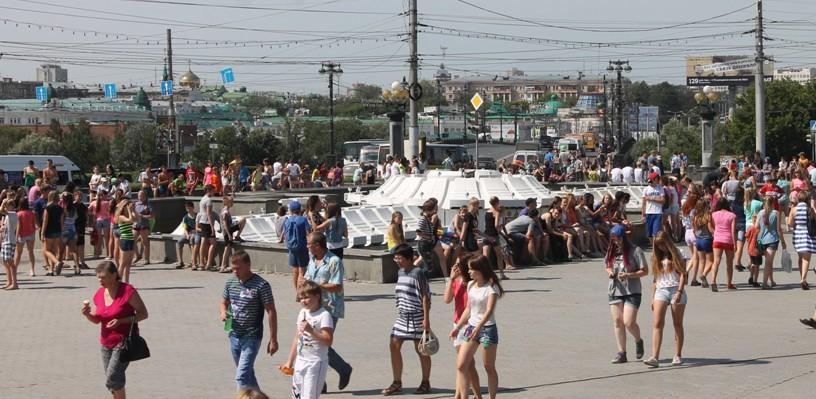 Население Омска за пять лет возросло на 46 000 человек