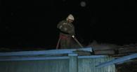 В Омской области в своем доме сгорел пенсионер