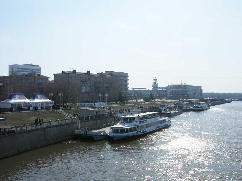 Прогулочные рейсы по Иртышу откроются в Омске с 1 мая