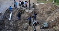 На севере Омской области раскопали надгробную плиту купца первой гильдии