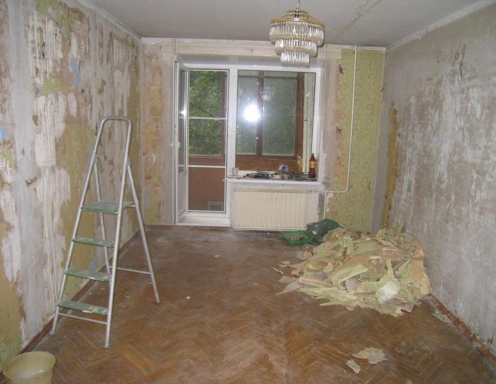 С чего начать ремонт в квартире своими
