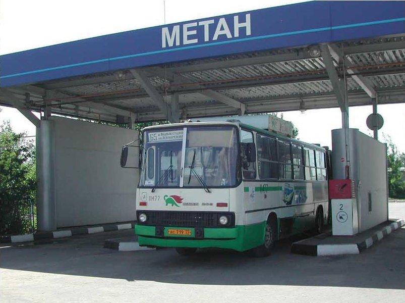 В Омске для автобусов собираются построить две газовые заправки