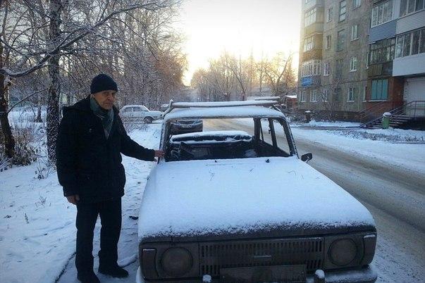 Омичи сбросились и купили машину 73-летнему дедушке