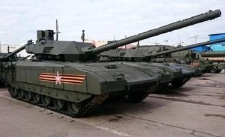 Минобороны впервые продемонстрировало боевые возможности танка «Армата» (видео)