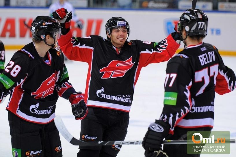 В Омске началась продажа билетов на матчи «Авангарда»